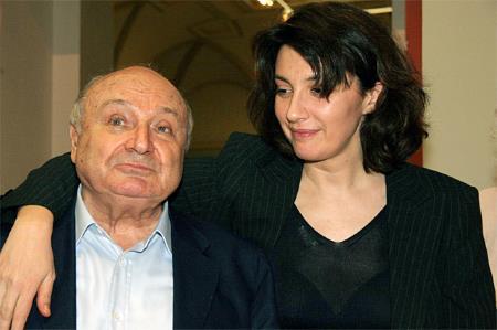 Михаил Жванецкий с женой Натальей Суровой