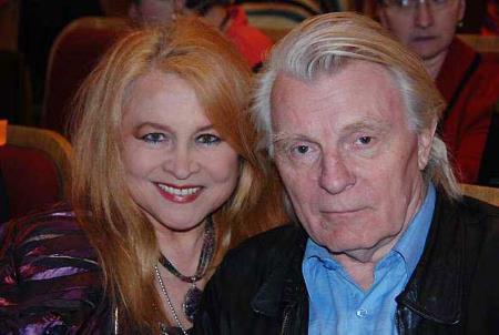 Юрий Назаров с женой Людмилой Мальцевой