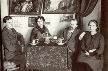 Семья Кустодиева