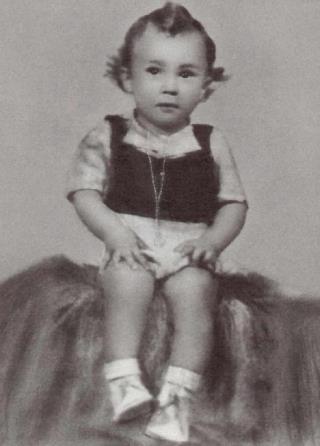 Робертино в детстве. 1,5 года.