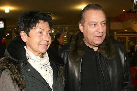 Геннадий Хазанов и жена Злата Эльбаум