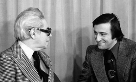 Геннадий Хазанов и Аркадий Райкин