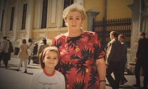 Виктория Райдос и бабушка Зина.