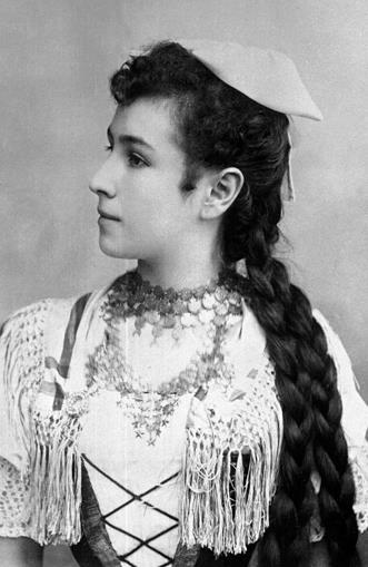 Матильда Кшесинская в молодости