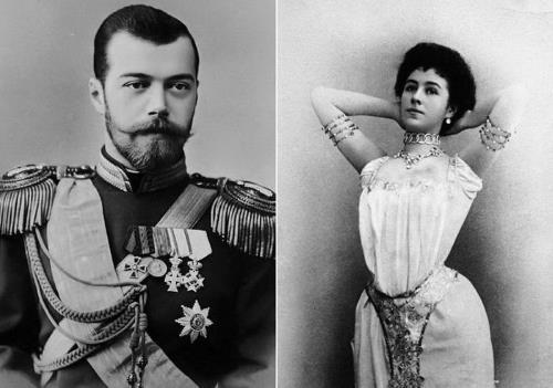 Николай II и Матильда Кшесинская
