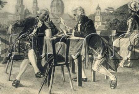 Йозеф Гайдн и Амадей Моцарт