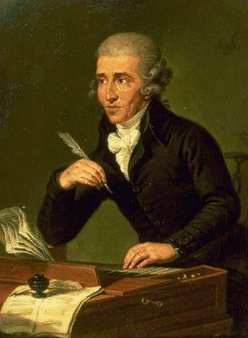 Йозеф Гайдн пишет музыку