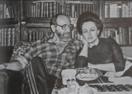 Юрий Власов с женой Ларисой Сергеевной