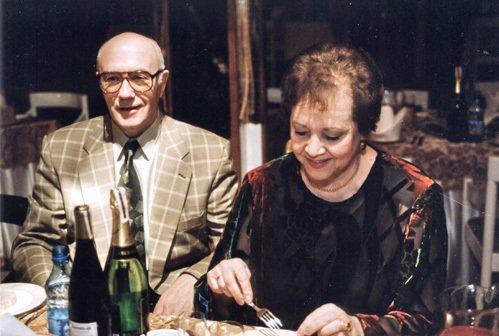 Леонид Куравлев с женой Ниной Васильевной