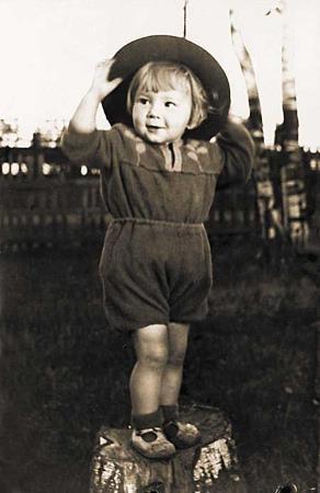 Татьяна Тарасова в детстве