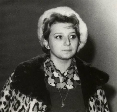 Татьяна Тарасова в молодости