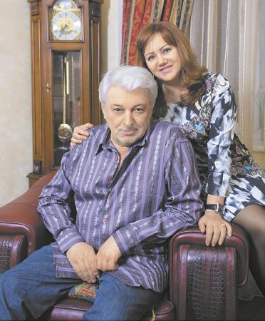 Вячеслав Добрынин со второй женой Ириной