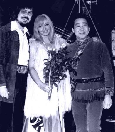 Победители фестиваля в Сопоте: Тони Крэйг, Марыля Родович и Кола Бельды. 1973 г.