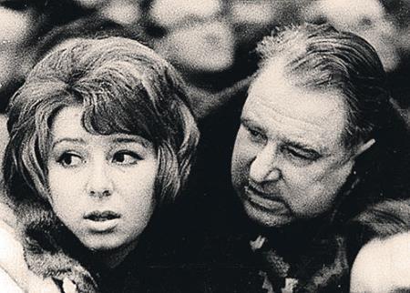 Анатолий Тарасов и дочь Татьяна Анатольевна