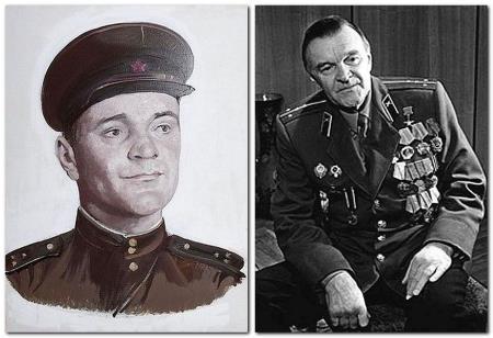 Фото военных лет Юрия Бондарева