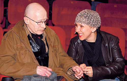 Виктор Проскурин с настоящей женой Ириной Хондой