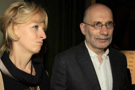 Борис Акунин с женой Эрикой
