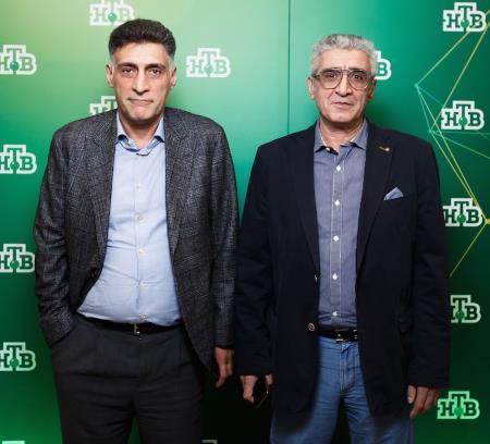 Тигран Кеосаян со старшим братом