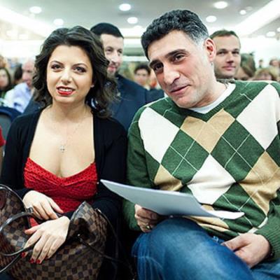 Тигран Кеосаян с новой женой Маргаритой Симоньян