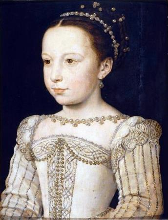 Королева Марго (Маргарита де Валуа) в юности