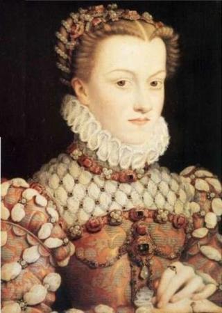 Королева Марго (Маргарита де Валуа) в молодости