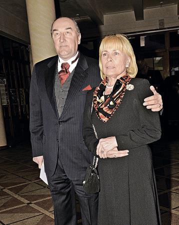 Борис Клюев с женой Викторией