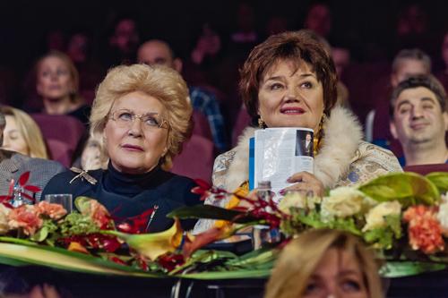 Тамара Синявская и Елена Образцова