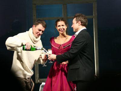 Игорь Петренко на сцене театра
