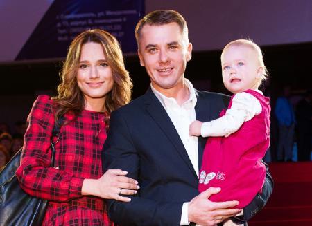Игорь Петренко с женой актрисой Кристиной Бродской