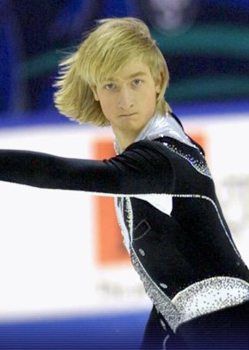Евгений Плющенко в молодости