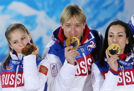 На Сочинской Олимпиаде в 2014 году