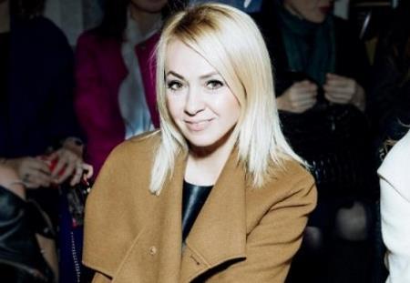 Яна Рудковская в молодости