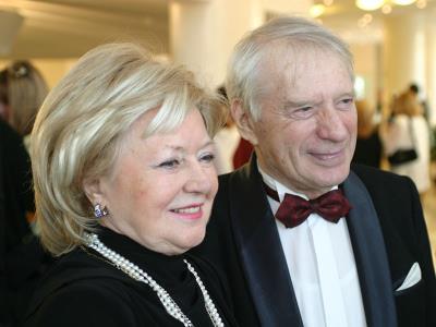 Людмила Касаткина с мужем режиссером Сергеем Колосовым