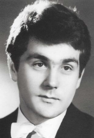 Сергей Маковецкий в молодости.