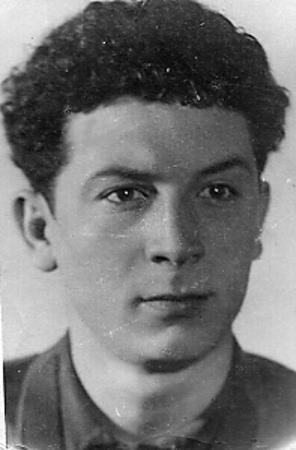 Борис Сичкин в юности