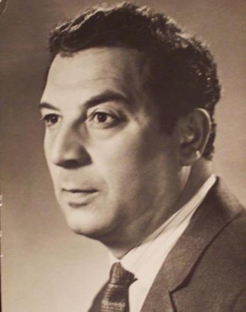 Борис Сичкин в молодости