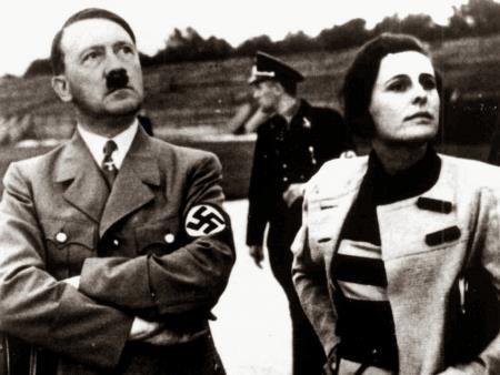 Лени Рифеншталь и Адольф Гитлер