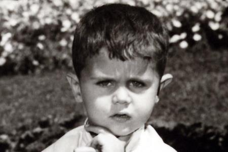 Башар Асад в детстве