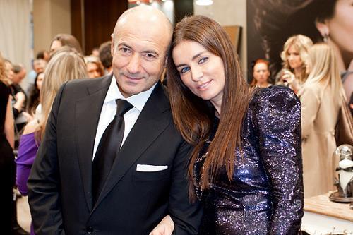 Игорь Крутой с женой Ольгой