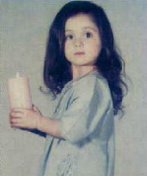 Лара в детстве