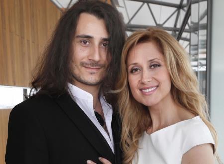 Лара Фабиан с мужем