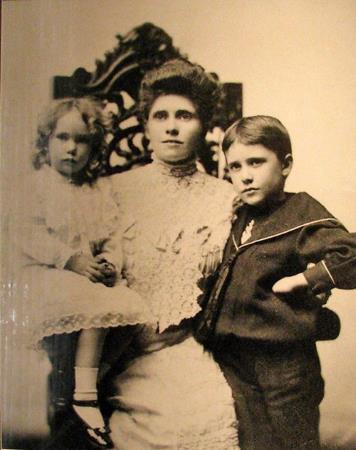Маргарита с мамой и братом