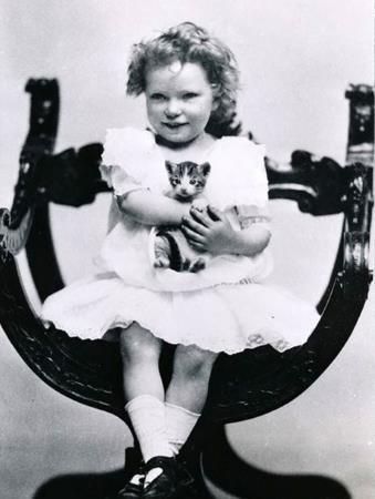 Маргарет в детстве