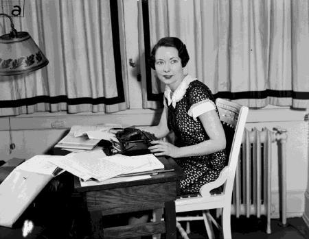 """Маргарет Митчелл в работе над романом """"Унесенные ветром"""""""