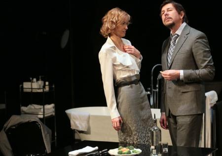 Ингеборга Дапкунайте на сцене театра