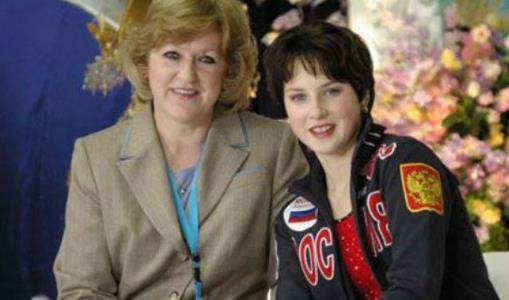 Ирина Слуцкая с тренером Жанной Громовой