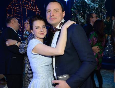 Ирина Слуцкая с мужем Сергеем Михеевым