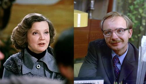 Андрей Мягков и его жена Анастасия Вознесенская