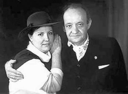 Лев Перфилов с женой Верой