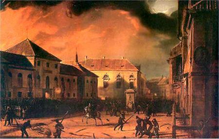 Денис Давыдов участвовал в подавлении Польского восстания 1830-1831 гг.